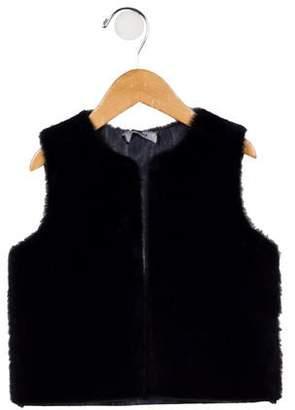 Imoga Girls' Faux Fur Vest w/ Tags