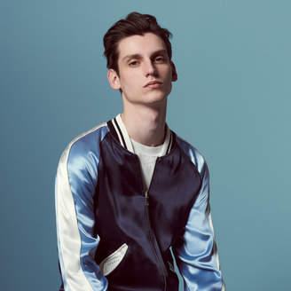Sandro Bomber reversible jacket with print