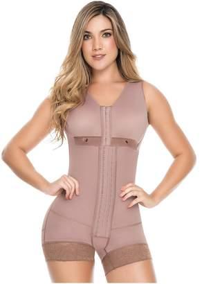 cec2b03cc511d Dprada Fajas 11086 Post Surgery Boyshort Compression Garment with Bra (XL)