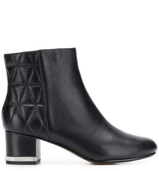 MICHAEL Michael Kors quilted panel ankle boots