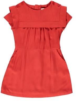 Chloé Sale - Percale Sailor Collar Dress