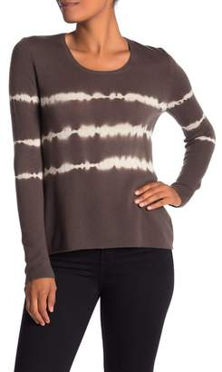 Kier & J Tie-Dye Cashmere Sweater