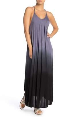 BOHO ME Rainbow Strap Ombre Maxi Dress