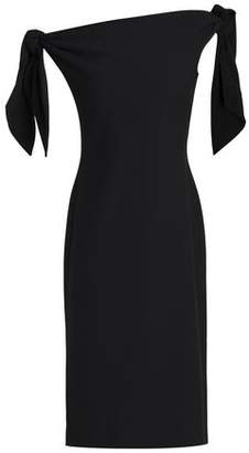 Chalayan Off-The-Shoulder Knotted Crepe Dress