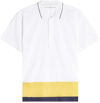 Golden Goose Dalila Color Block Polo Shirt