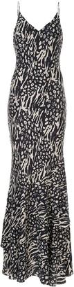 Rebecca Vallance Lola printed slip dress
