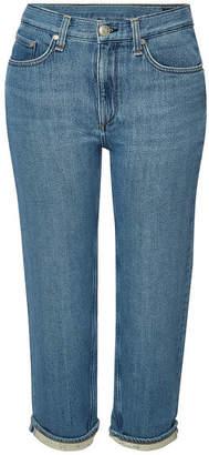 Rag & Bone Cropped Boyfriend Jeans