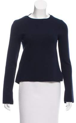 Rosie Assoulin Long Sleeve Crew Neck Sweater