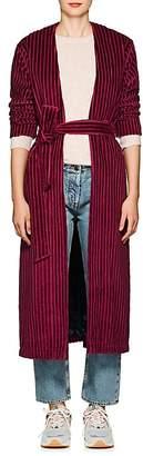 """Mira Mikati Women's """"Late"""" Cotton Velvet Robe Jacket"""