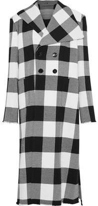 Marques Almeida Marques' Almeida Checked Wool Coat