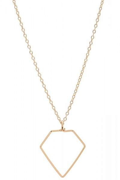 Styleserver DE By Philippe Halskette Diamant Anhänger gold