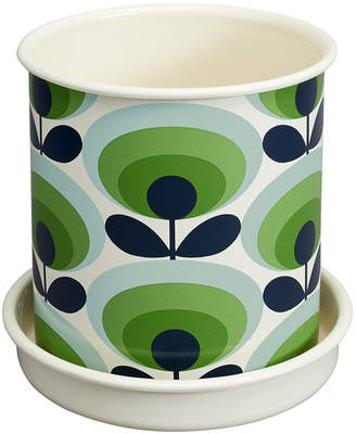 Orla Kiely Large Oval Flower Plant Pot