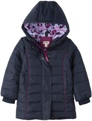 Hatley Big Girl's Fitted Puffer Jackets Outerwear