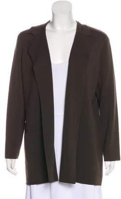 Akris Wool Structured Cardigan