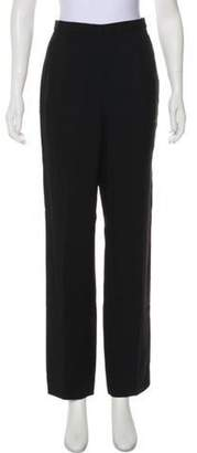 Christian Dior High-Rise Straight-Leg Pants Black High-Rise Straight-Leg Pants