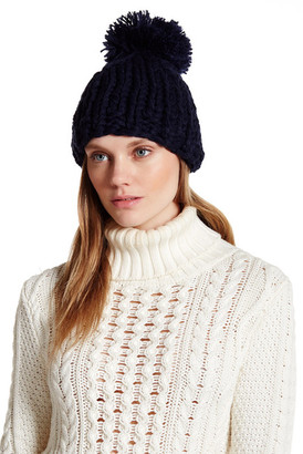 Collection XIIX Oversized Pom Knit Hat $28 thestylecure.com
