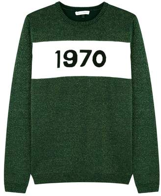 Bella Freud 1970 Metallic-knit Wool