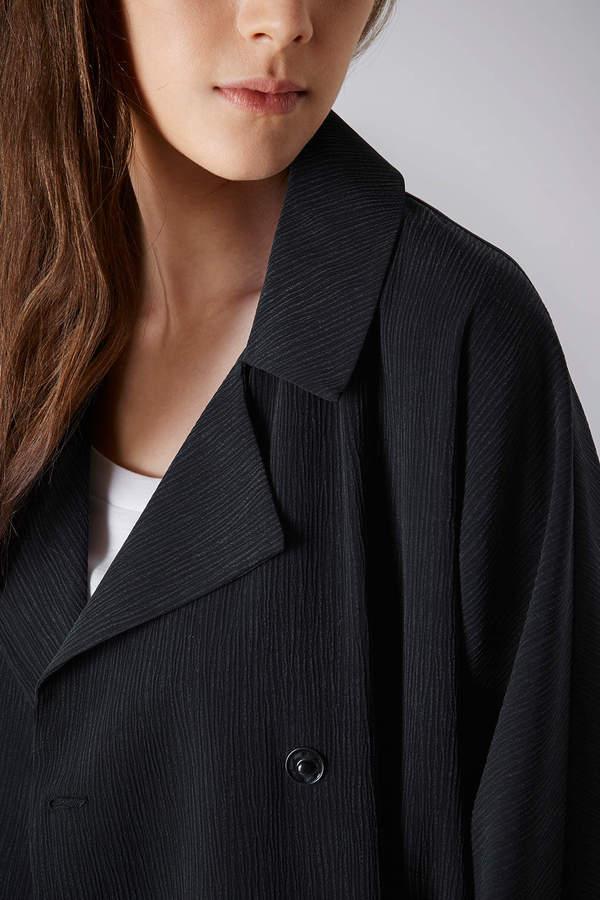 Topshop Crinkle Duster Coat