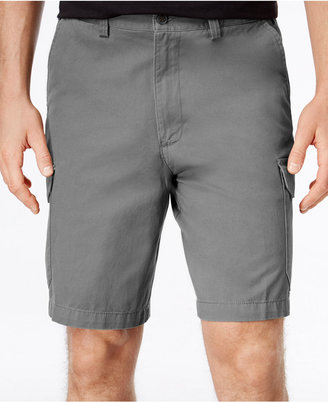 Geoffrey Beene Men's Big and Tall Washed Twill Cargo Shorts $55 thestylecure.com