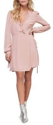 ABS by Allen Schwartz Collection Ruffle Wrap Dress
