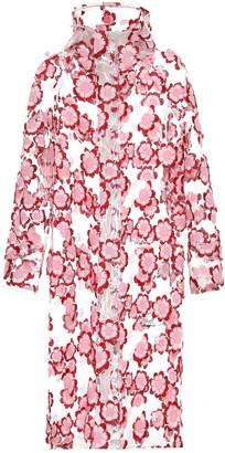 Simone Rocha Moncler Genius 4 MONCLER embroidered raincoat