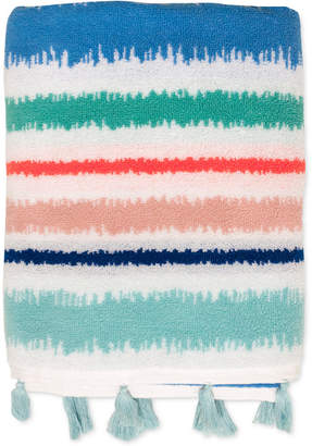 Dena Tropical Cotton Stripe Bath Towel Bedding