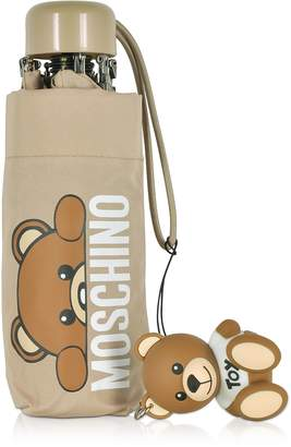 Moschino Hidden Teddy Bear Beige Supermini Umbrella