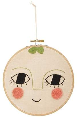 A+ro aro for kids Peach Embroidered Wall Art