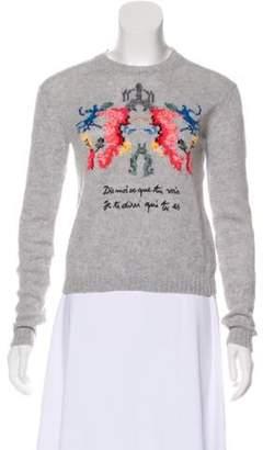 Christian Dior 2018 Cashmere Sweater Grey 2018 Cashmere Sweater