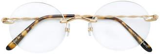 Elie Saab frameless glasses