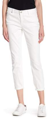 Nine West Gramercy Solid Skinny Ankle Jeans