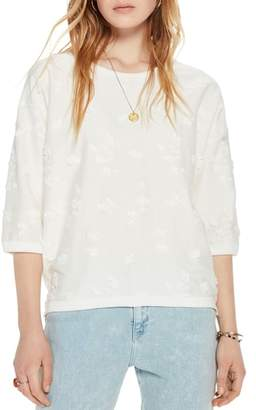Scotch & Soda Tonal Embroidered Sweatshirt