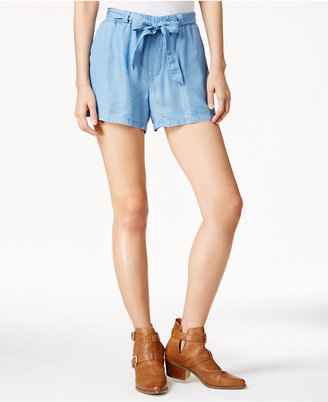 Maison Jules Chambray Pull-On Shorts, Only at Macy's $44.50 thestylecure.com