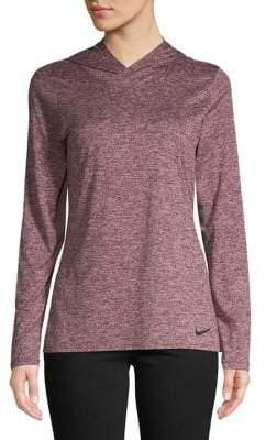Nike Dri-Fit Long-Sleeve Hooded Top