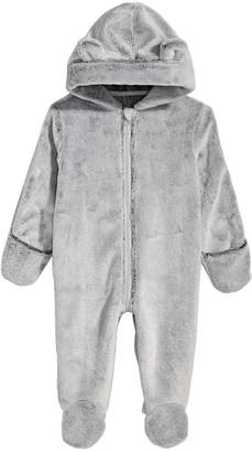 First Impressions Baby Boys & Girls Hooded Faux-Fur Footed Snowsuit