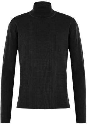Wooyoungmi Cashmere Roll Neck Sweater - Mens - Khaki