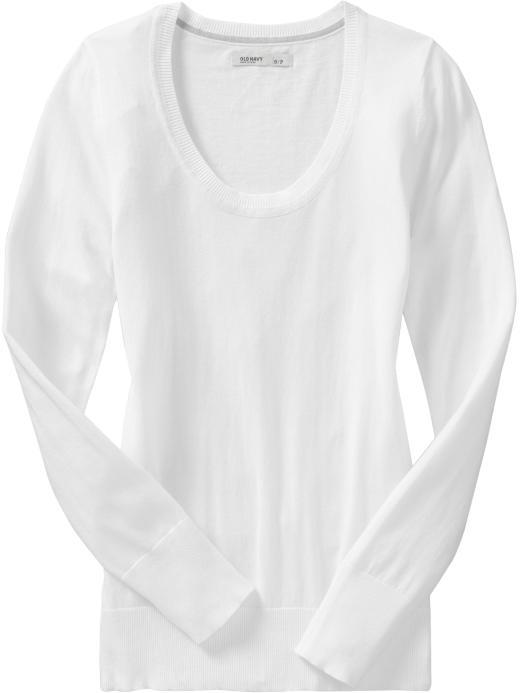 Women's Lightweight Scoop-Neck Sweaters