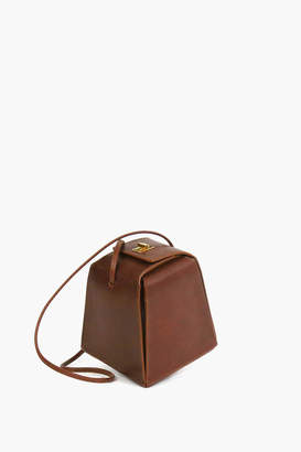 Neely & Chloe Leather Pyramid Bag