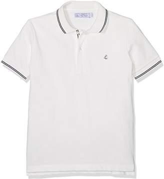 Petit Bateau Boy's Forfait Polo Shirt,140 cm