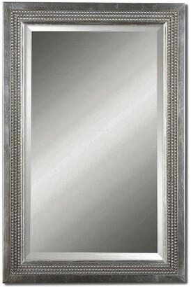 Uttermost Triple Beaded, Vanity Mirror