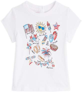 Polo Ralph Lauren America Graphic Print T-Shirt