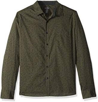 Van Heusen Men's Never Tuck Slim Fit Shirt