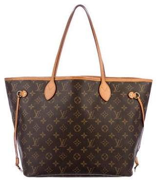 Pre Owned At Therealreal Louis Vuitton Monogram Neverfull Mm