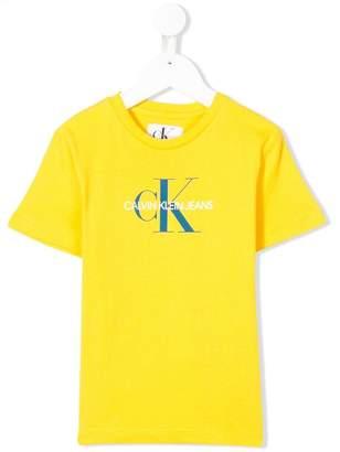 Calvin Klein (カルバン クライン) - Calvin Klein Kids ロゴパッチ Tシャツ