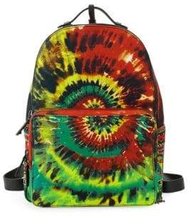Valentino Tie-Dyed Zip Backpack