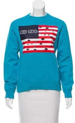 Kenzo Eye American Flag Sweatshirt