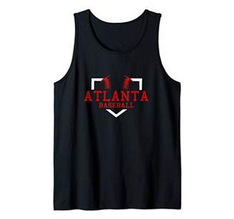 Vintage Atlanta Baseball Tank Top