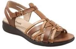 SoftWalk Taft Leather Sandals