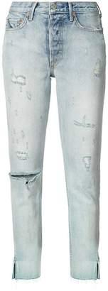 GRLFRND distressed skinny jeans