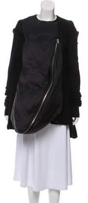 Rick Owens Wool Down Coat w/ Tags